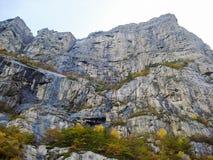 Montañas en Noruega Fotografía de archivo libre de regalías