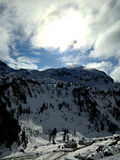 Montañas en Obertauern Fotos de archivo libres de regalías