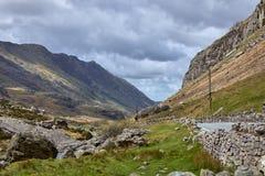 Montañas en País de Gales Imagen de archivo