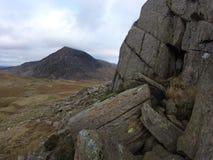 Montañas en País de Gales Fotos de archivo libres de regalías