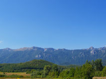 Montañas en paisaje del verano Imagen de archivo libre de regalías