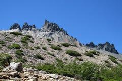 Montañas en Patagonia Fotografía de archivo libre de regalías