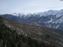Montañas en Sochi Imágenes de archivo libres de regalías