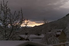 Montañas en Sochi imagen de archivo