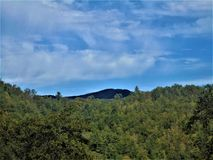 Montañas en Tennessee imagen de archivo libre de regalías