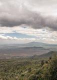 Montañas en un valle de Kenia Fotografía de archivo libre de regalías