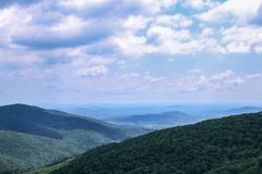 Montañas en Virginia fotos de archivo libres de regalías