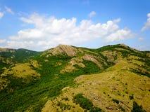 Montañas enselvadas salvajes de Balcanes Fotos de archivo