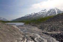 Montañas escénicas en Alaska Imágenes de archivo libres de regalías