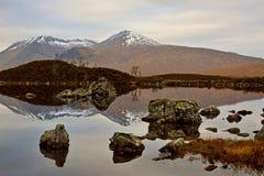 Montañas escocesas Imagenes de archivo