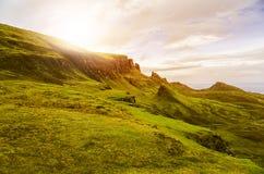 Montañas escocesas Fotografía de archivo libre de regalías