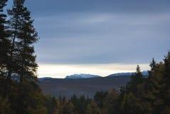Montañas escocesas Imágenes de archivo libres de regalías