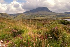 Montañas escocesas fotos de archivo libres de regalías