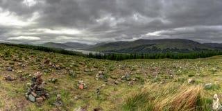 Montañas escocesas Escocia, Reino Unido imagen de archivo