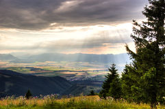 Montañas eslovacas Fotografía de archivo