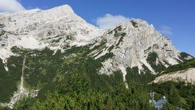 Montañas eslovenas imagenes de archivo