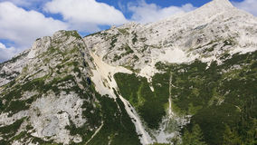 Montañas eslovenas fotos de archivo