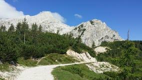 Montañas eslovenas imagen de archivo libre de regalías