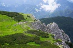 Montañas eslovenas foto de archivo