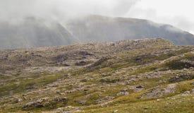 Montañas estériles Foto de archivo libre de regalías