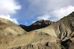 Montañas estériles de la gama de Stok Imagen de archivo