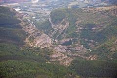 Montañas francesas del Chabre Foto de archivo libre de regalías