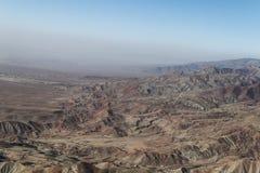 Montañas fuera de la ciudad de Kabul del aire del tha foto de archivo libre de regalías