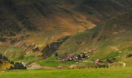 Montañas Georgia de Khevsureti Fotos de archivo libres de regalías
