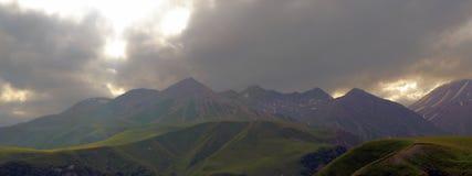 Montañas georgianas Fotografía de archivo libre de regalías