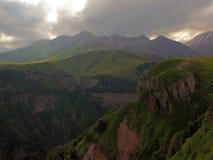Montañas georgianas Imagen de archivo libre de regalías