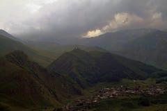 Montañas georgianas Fotografía de archivo