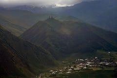Montañas georgianas Imagen de archivo
