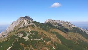 Montañas Giewont de Tatra Fotografía de archivo