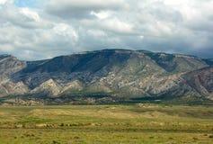 Montañas grandes del claxon Imágenes de archivo libres de regalías