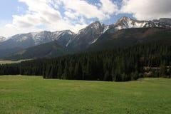 montañas hermosas Fotos de archivo libres de regalías