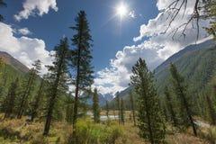 montañas hermosas Fotos de archivo