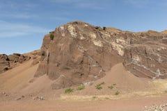 Montañas interiores de la isla del EL Hierro Imágenes de archivo libres de regalías