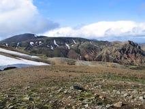 Montañas islandesas Fotos de archivo libres de regalías