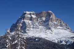 Montañas Italia de Dolomiti Fotografía de archivo libre de regalías