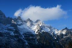 Montañas Italia de Dolomti Foto de archivo