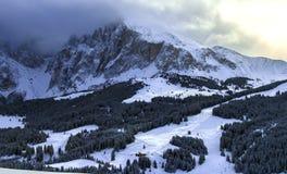 Montañas italianas en el invierno fotos de archivo libres de regalías