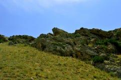 Montañas, Kadamzhai, Kirguistán Imagen de archivo
