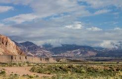 Montañas la Argentina de los Andes Foto de archivo libre de regalías