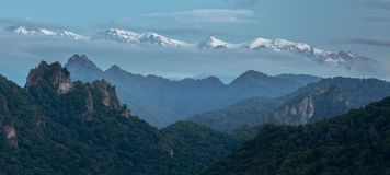Montañas, lagos, viaje, naturaleza, lagos foto de archivo libre de regalías