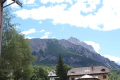 Montañas lejos Imagen de archivo