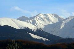 Montañas magníficas Fotografía de archivo libre de regalías