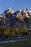 Montañas magníficas de Teton imagenes de archivo