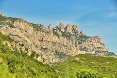 Montañas Montserrat Imagen de archivo