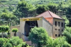 Montañas Montserrat Fotos de archivo libres de regalías