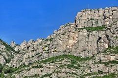 Montañas Montserrat Foto de archivo